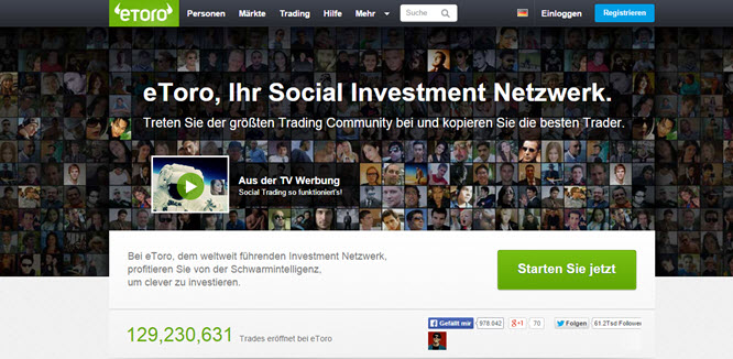 eToro: Trading Community