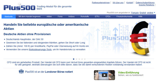 Deutsche Aktien ohne Provisionen