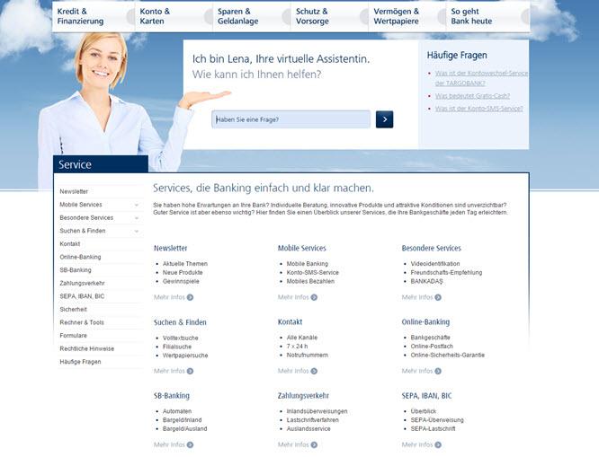 Targobank Großes Service Angebot