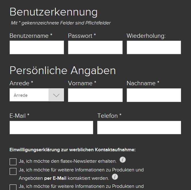 Flatex Demokonto anmelden