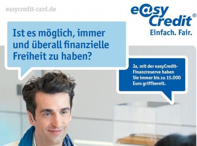 Informationsbroschüre für die easyCredit-Card