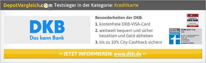 Kreditkarten Test DKB