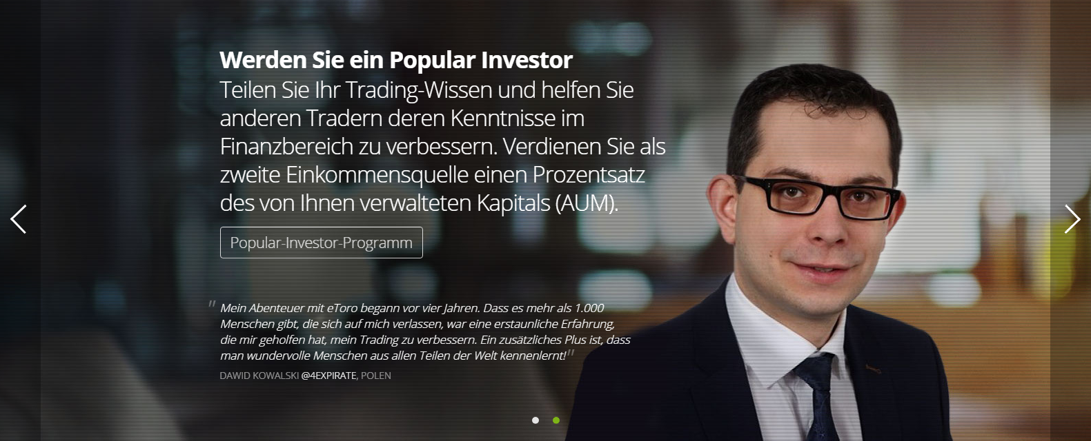 eToro Social Trading Erfahrungen