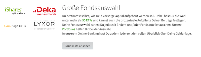 fairr.de ETFs