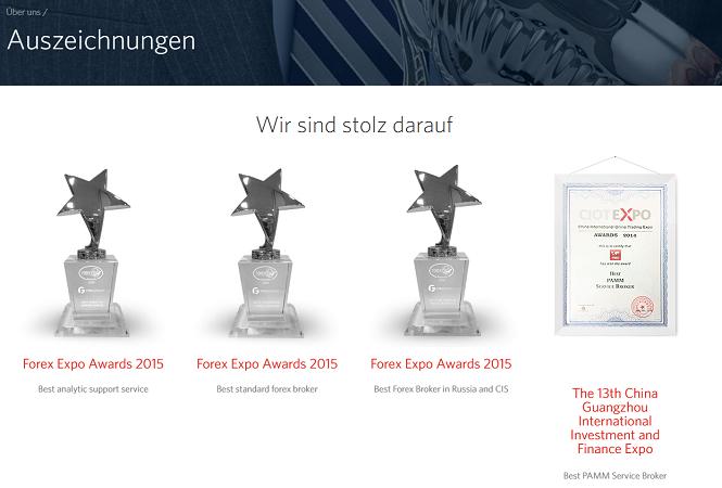 FIBO Group Auszeichnungen