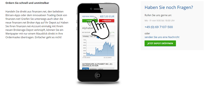 finanzen.net broker test