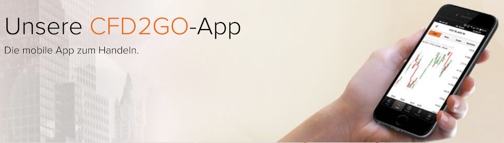 flatex CFD2GO-App