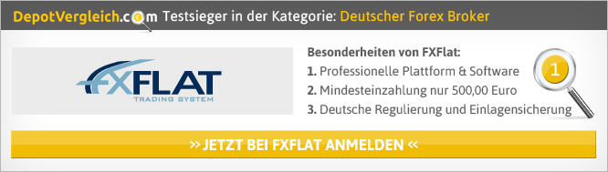 Deutsche Forex Broker auf depotvergleich.com