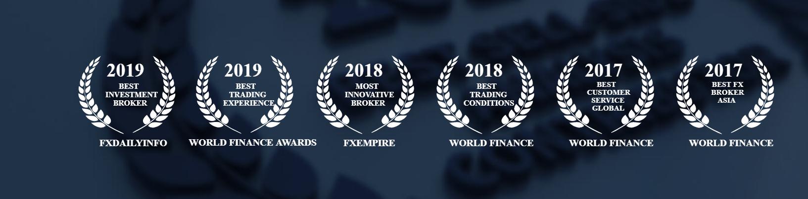 FXTM Auszeichnungen