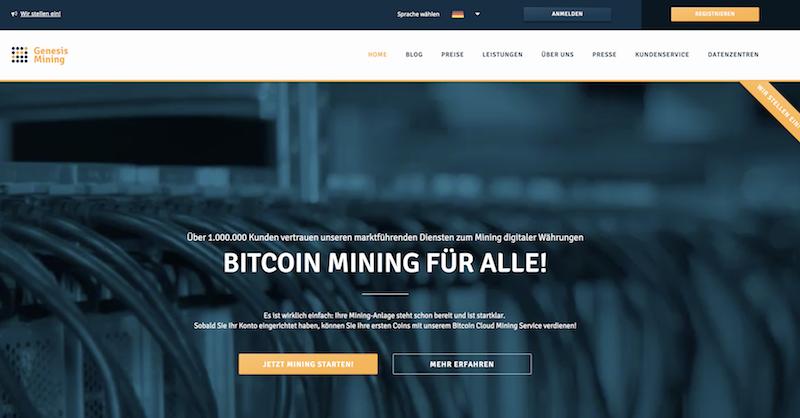 Mining-Plattformen im Vergleich