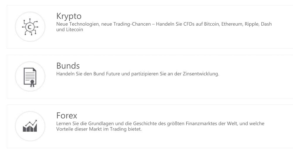 GKFX Krypto Handel
