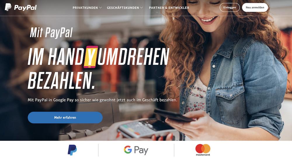 PayPal Online-Bezahldienst