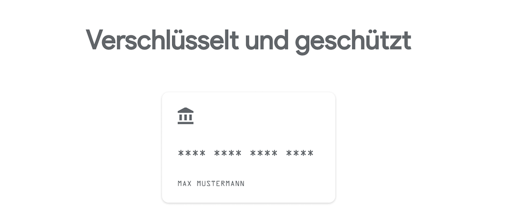 Google Pay Sicherheit