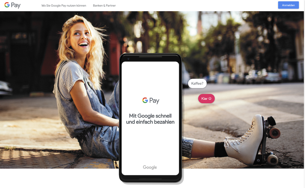 Google Pay mobile Zahlungsdienst