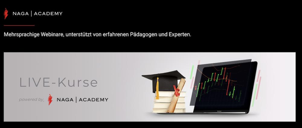 NAGA Markets Bildungsangebot