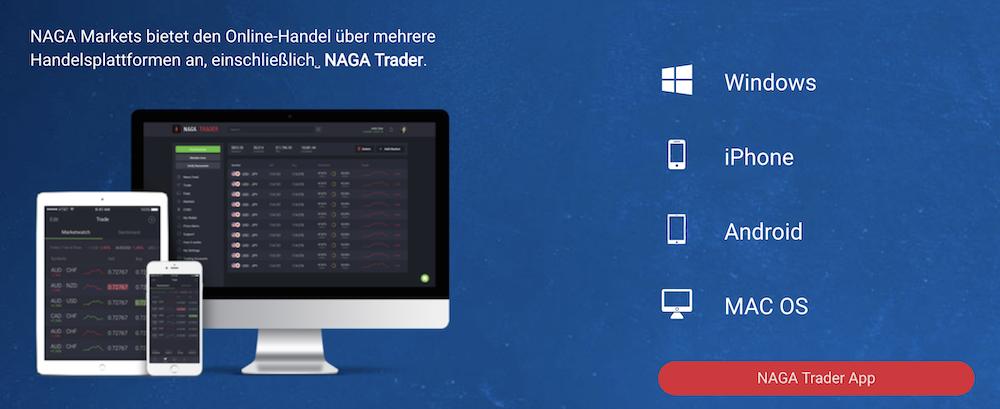 NAGA Markets Handelsplattform
