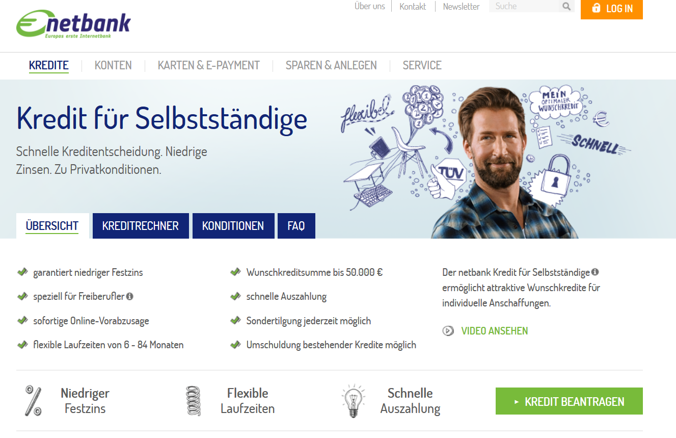 Zusatzleistungsübersicht MasterCard Platinum auf netbank.de