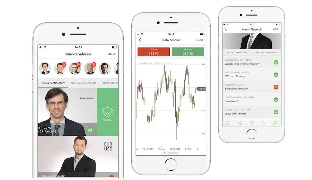 nextmarkets App
