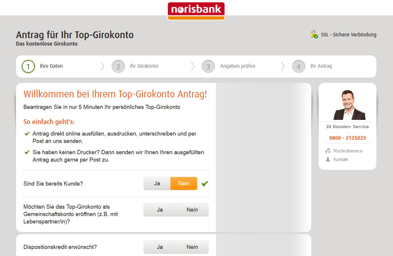Leistungen und Vorteile der MasterCard auf norisbank.de