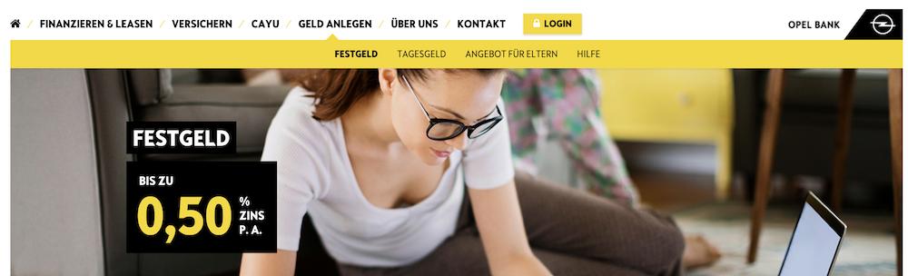 Opel Bank Festgeld Erfahrungen von Depotvergleich.com