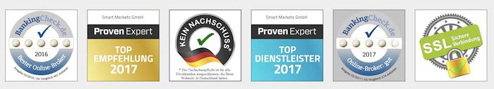 Smart Markets Auszeichnungen