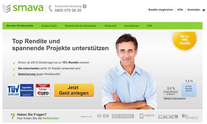 Online-Geldanlage Vergleich