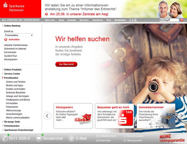 Sparkasse Hannover Baufinanzierung