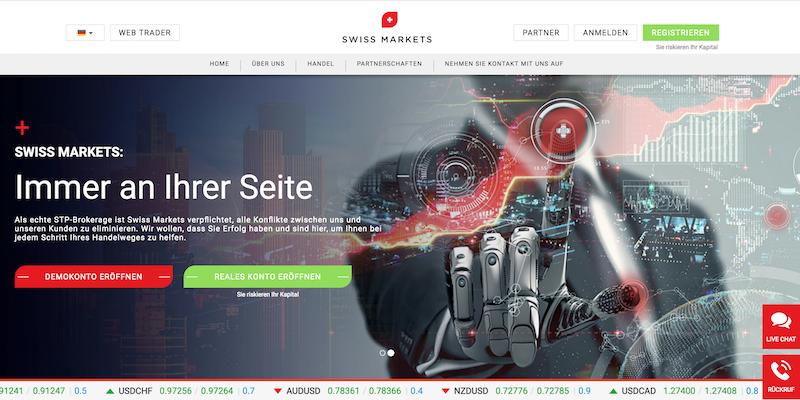 Swiss Markets Erfahrungen von Depotvergleich.com