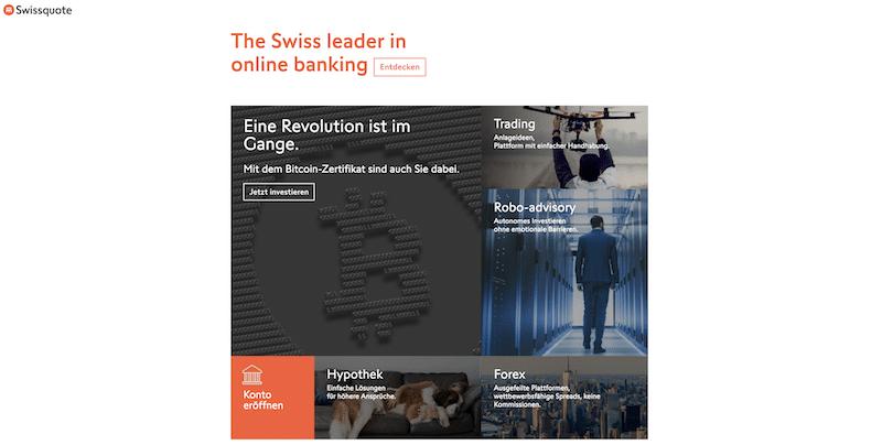 Swissquote Krypto Erfahrungen von Depotvergleich.com