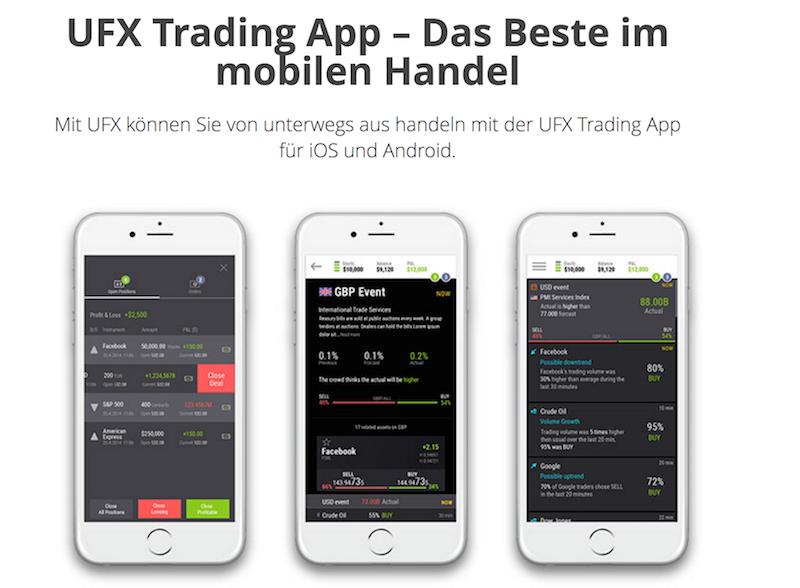 UFX Trading App