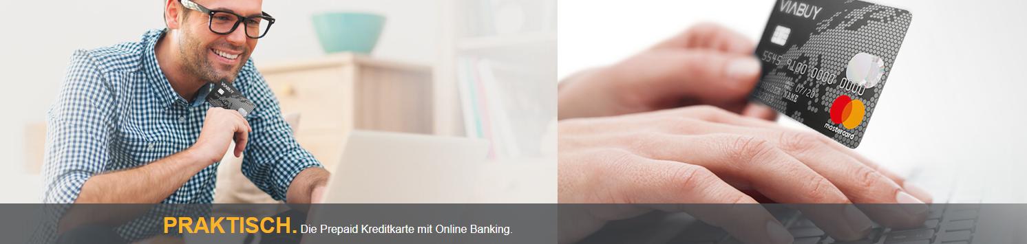 VIABUY bietet auch Online Banking an