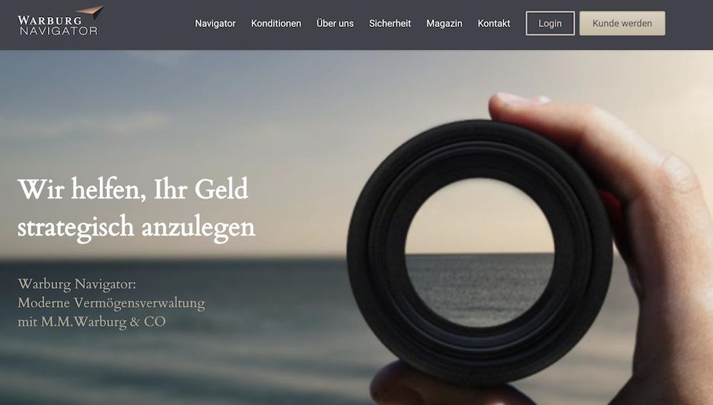 Warburg Navigator Erfahrungen von Depotvergleich.com