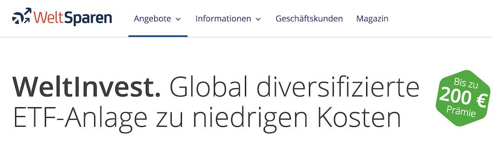 WeltInvest Erfahrungen von Depotvergleich.com