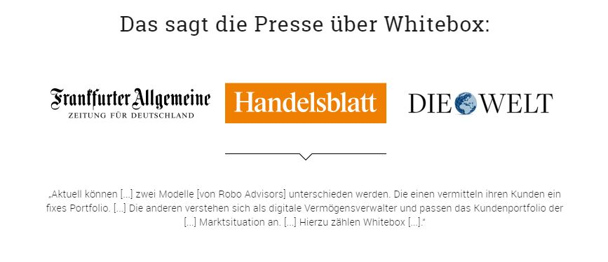 Whitebox Bewertung