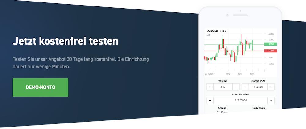 Das kostenlose Demokonto von XTB bietet einen Einblick in die Welt des Tradings