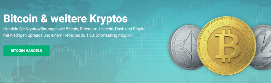 XTB Kryptwährungen