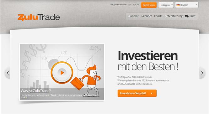 ZuluTrade Social Trading Anbieter